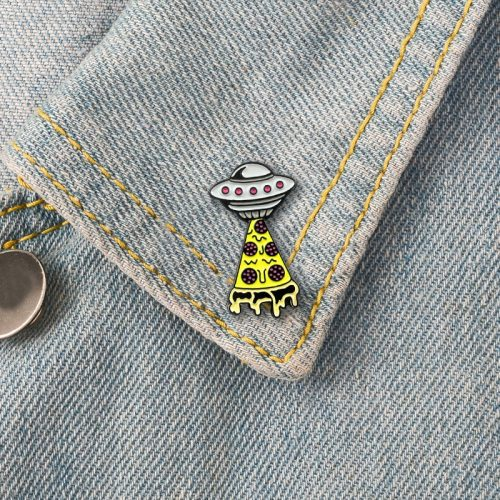 3 Pcs Women's Button Brooches All Match Design Creative Metal Decoration Casual Cartoon