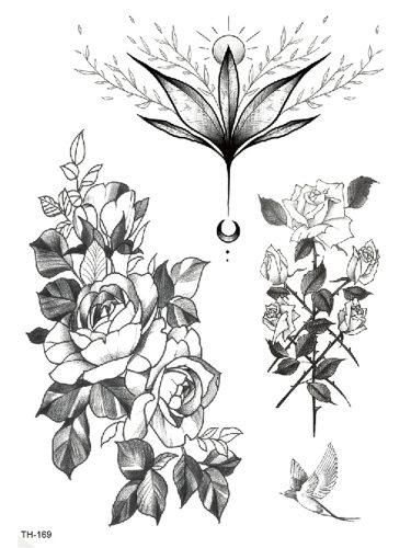 Women's Tattoo Sticker Animal Cat Design Creative OL Sweatproof Print Accessory