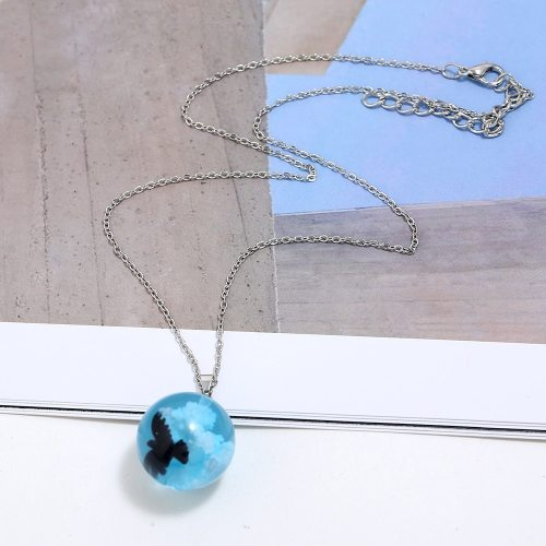 Women's Necklace Fresh Pendant Lovely Necklace Casual Cartoon Fashion Crystals Catenary/Necklace