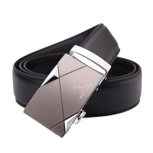 Men's Belt Automatic Buckle Fashion Business Leisure Basic Solid Color Accessory Belt body width: 35cmLength: 110-115-120-125-130 cmThe length can be