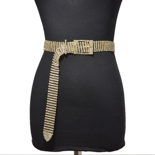 Women's Waist Chain Ladylike chains Accessories One-loop Fashion Rhinestone