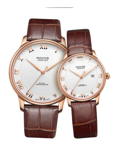 ROCOS Couples' Fashion Vintage Style Mechanical Waterproof Women's Watches Other Pointer
