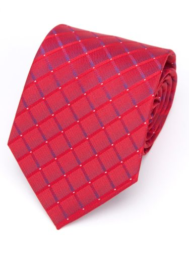 Men's Tie Plaid Embroidery Polka Dots Business Formal Tie Accessory