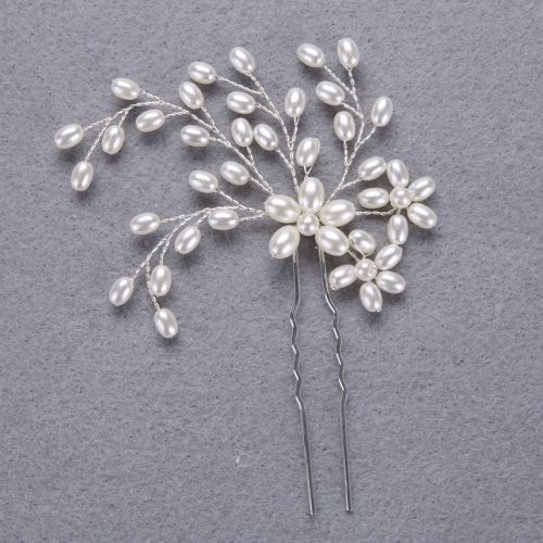 100% Handmade Pearl Hairpin Hair Jewelry for Women Wipe clean Hair Clips Fashion