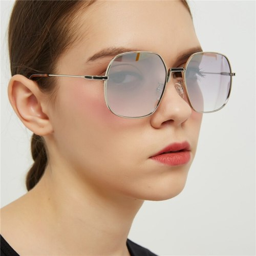 Women's Metal Frame Faddish Glasses Wipe clean Solid Color Square Shape Fashion zoravia Vintage Others Sunglasses Round Circle Accessory Elegant