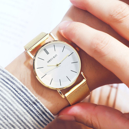 Women's Watch Ladylike Fashionable Pointer Gradient Color Hasp Stainless Steel Wipe clean Women's Watches Alloy Sequined Quartz Casual