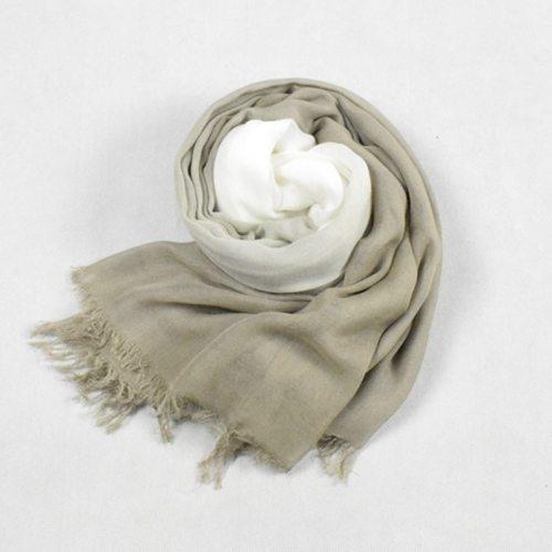 SAN VITALE Men's Scarf Soft Comfy Design Tassel Accessory Scarves Solid Color Outdoor Hand wash Winter Scarves