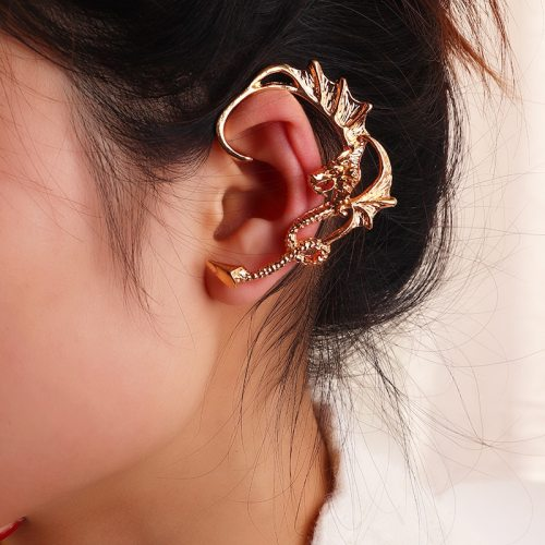 One Piece Women's Ear Clip Animal Design Fashion Basic Casual Accessory Metal Decoration Geometric