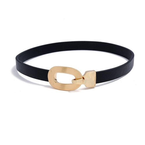 Women's With Pendant Collar Color Block Retro Style Geometric Accessories Basic Pastoral Hollow out