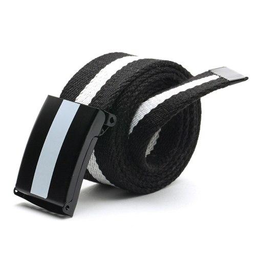 Men's Belt Color Block Casual Men's Belts Striped Contrast Color Basic Accessory Width CM : 38 CMLength CM : 110 CM