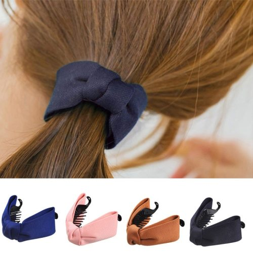 6Pcs Women's Bow Pattern Trendy Hair Fine Hand wash Hair Clips