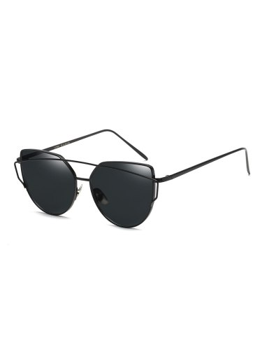 Women's Metal Frame Cat Eye Sunglasses Accessory Fashion Wipe clean Others Solid Color