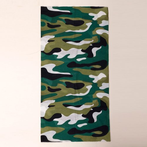 Men's Scarf Fashion Multi-Functional Comfortable Travel Casual Camouflage