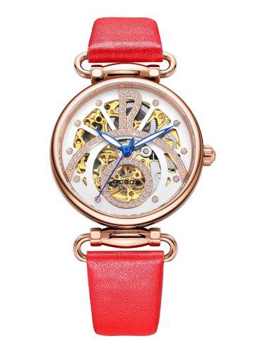 ROCOS Women's Mechanical Watch Waterproof Rhinestone Inlay Exquisite Design Elegant Pointer Waterproof:50MDial Diameter:36mmDial Thickness:11mm Other