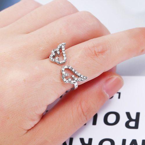 Women's Ring Zircon Elegant Stylish Ring Catenary/Necklace Fashion
