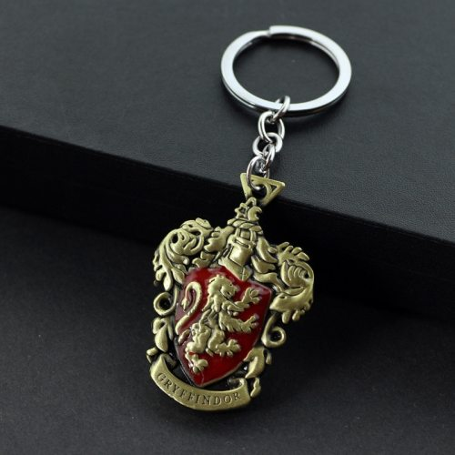Men's Key Ring Vintage Style Carving Pattern Accessories Animal Metal Decoration Casual