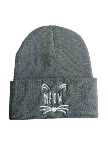 Women's Beanie Keep Warm Adorable Pattern Casual Hat Accessories Cartoon Hand wash Spring/Autumn Embroidery Size: head fitting for 55cm-60cmWeight: