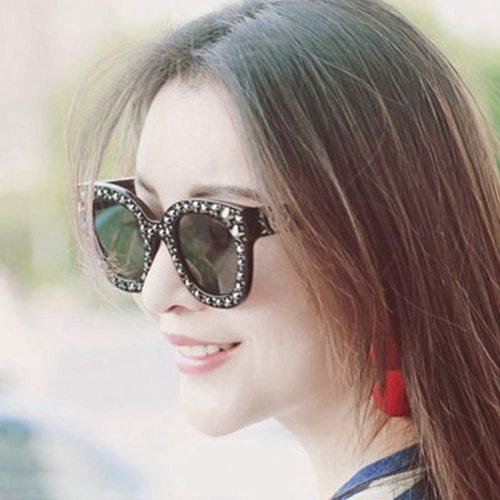 San Vitale Women's Retro Style Casual Wipe clean Round Circle Fashion Sunglasses Pastoral Gradient Color Oval Shape Anti-UVA Accessory Metal
