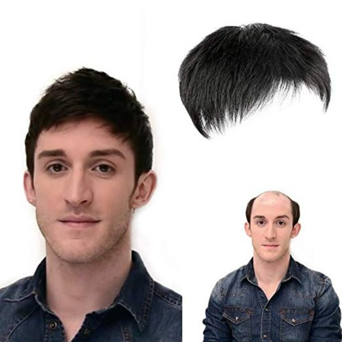 Men's Wig Imitation Short Hair Natural Breathable Straight Pastoral Basic Wipe clean