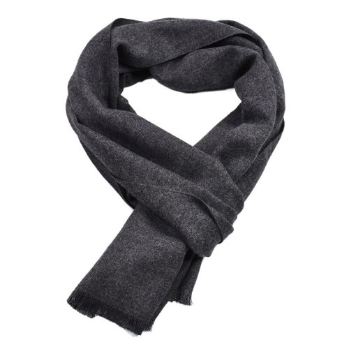 Men's Scarf Simple Comfortable Sexy Accessory size:180*30cm Scarves Solid Color Tassel Hand wash Winter Scarves
