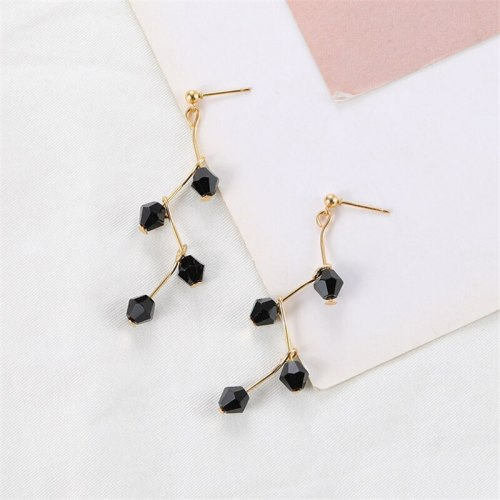 Women's Drop Earrings Creative Faddish Personalized Earrings Geometric OL Allergy Free No Inlay Fine Accessories Metal Decoration