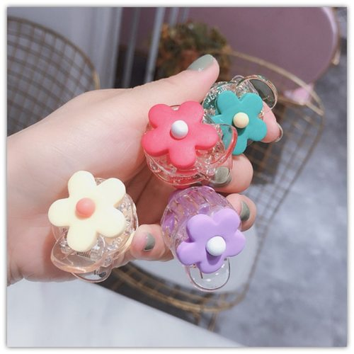1 Piece Women's Hair Clip Fashion Sweet Simple Candy Color Flower Decoration Hair Flowers Casual Hair Accessories Hand wash Fine Floral