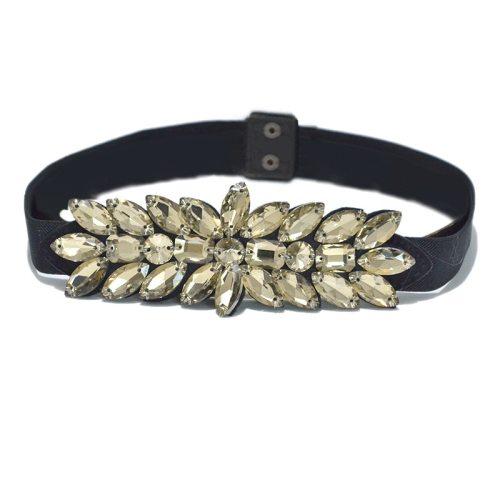 Women's Corset Design Waist Wipe clean One-loop Accessories cinch belt Fashion Rhinestone