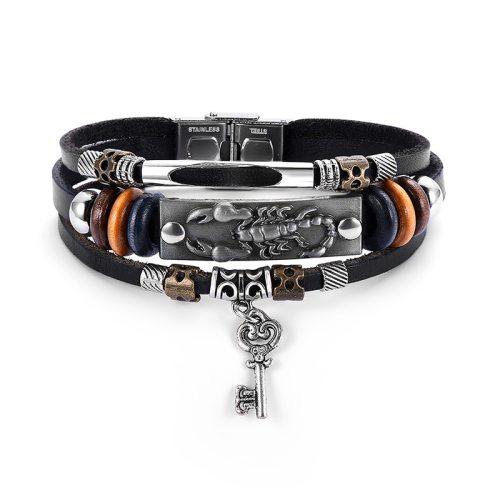 Women's Fashion Bracelet Multi-Layer Vintage Creative Geometric Basic Top Fashion Accessories Metal Decoration