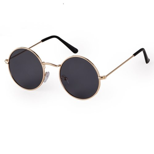Women's Simple Vintage All Match Fashion Wayfarer Sunglasses zoravia Wipe clean Others Round Shape Solid Color Metal Decoration Accessory Celebrity
