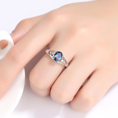 Women's Ring Elegant Hollow Out Design Chic Accessory Fashion