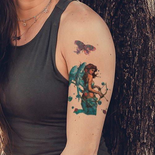 Women's Tattoo Sticker Creative Ladylike Waterproof Temporary Tattoo Sexy Figure Sweatproof Accessories