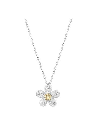 SWAROVSKI Women's Crystal Necklace Flower Pattern Brief Style Fashion Below 60cm Catenary/Necklace Basic