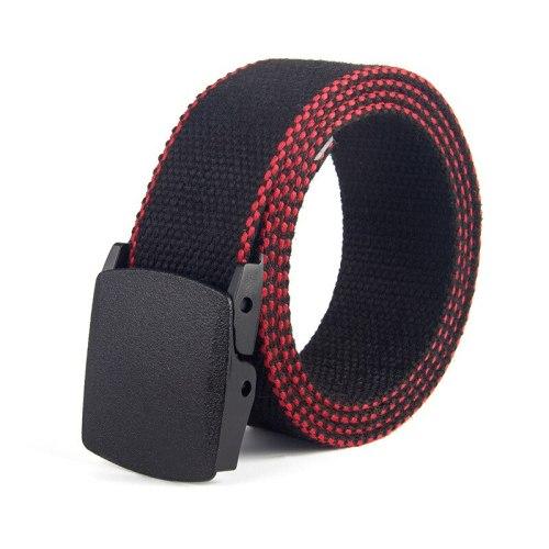 Men's Belt All Match Color Block Casual Contrast Color Width CM : 38 CMLength CM : 110 CM Men's Belts Accessory Fashion Striped