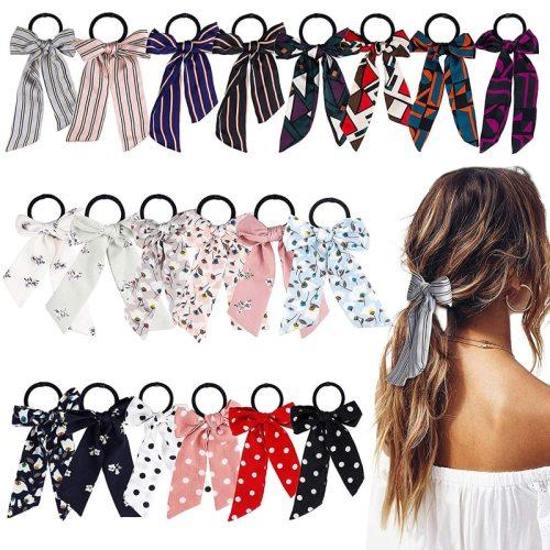 3Pcs Women's Hair Elastics Bow Lovely Hair Fine Hair Accessories