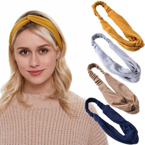 5Pcs Women's Hairbands Solid Color All Match Faddish Hair Hair Accessories send by random Fine