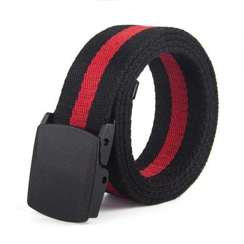Men's Belt Striped Color Block Casual Solid Color Accessory Width CM : 38 CMLength CM : 110 CM Contrast Color Men's Belts Fashion