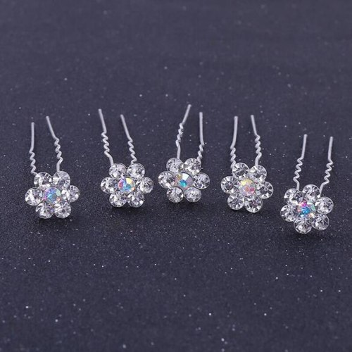 Lucky Doll 5Pcs Women's Hairpins Wedding Party Elegant Stylish Hair Hair Accessories Wipe clean Fashion