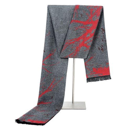 SAN VITALE Men's Scarf All Match Color Block Comfy Warm Hand wash Tassel Geometric Formal Scarves Winter Scarves Accessory