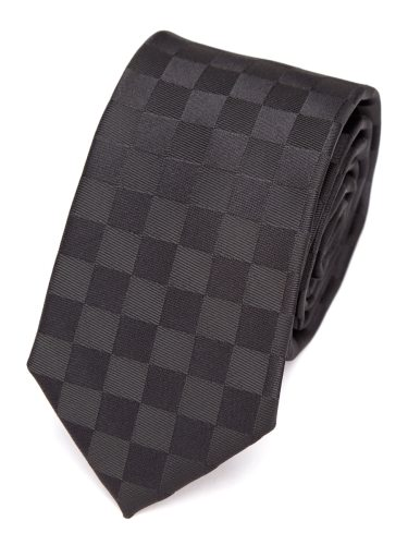 Men's Tie Fashion Business Stylish Checkered Pattern 6cm Accessory