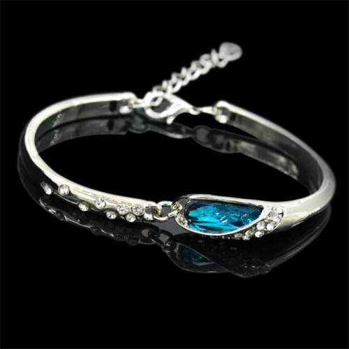 Women's Fashion Bracelet Simple Crystal Design All Match Accessory Vintage