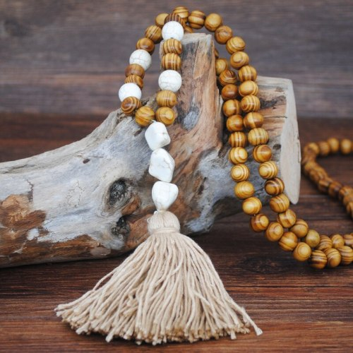 Women's Sweater Chain Ladylikes Sweater Geometric Accessory Pastoral Tassel Vintage Infinite Charming Jewelry