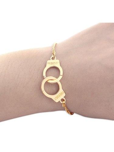 Women's Bracelet Handcuffs Decor Simple Casual All Match Fashion Circumference: 14 + 5 cm Accessories