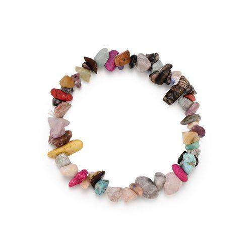 Women's Crystal Bracelet Color Block Natural Casual Bracelet Accessory Basic Crystals Camouflage Celebrity