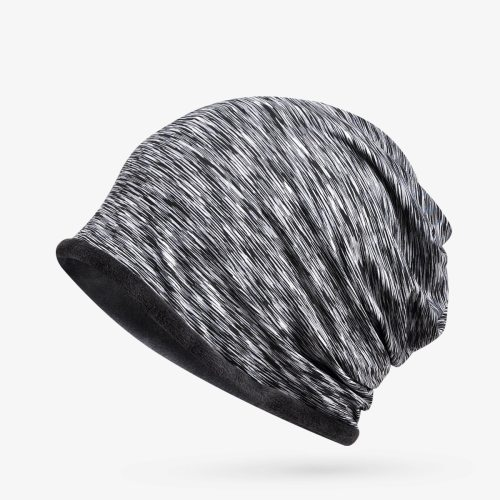 Women's Beanie Ladylike Fashionable Hat Winter Skullies & Beanies Hand wash Vintage Accessory Gradient Color Drape