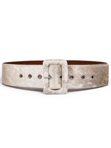 Women's Jeans Belt Color Simple All Match Accessories Women's Belts Solid Fashion One-loop