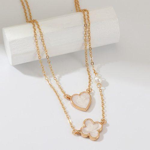 Women's Multi-Layer Necklace Rhinestone Elegant Necklace Fashion Accessories