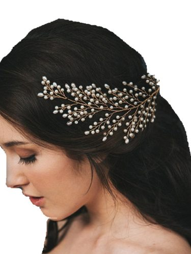 Women's Hair Clip Faddish Rhinestone Decorative Exquisite Hair Accessories Fine Wipe clean
