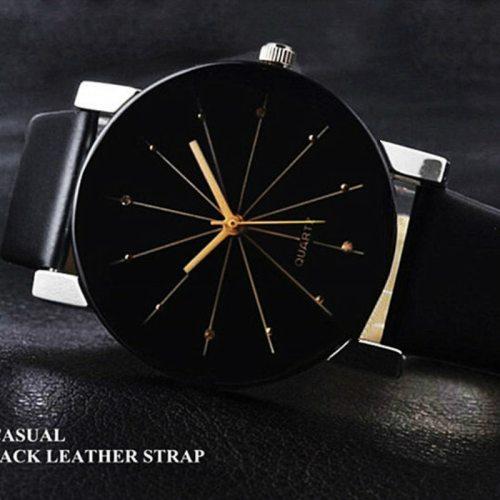 Women's Fashion Watch Dial Stylish Watch Pin Buckle Business Rhinestone Round Pointer Wipe clean Women's Watches Quartz Laser PU Alloy Luxury Watches