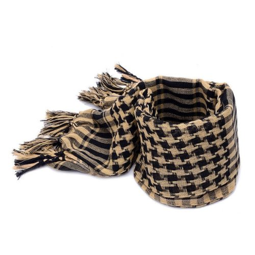 Men's Scarf Color Block Comfy Warm Windproof Tassel Scarves Winter Scarves Top Fashion Hand wash Animal Accessory