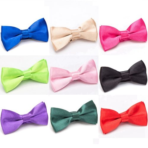 Kid's Tie Cute All-Match Bow Shaped Solid Color Accessory Casual
